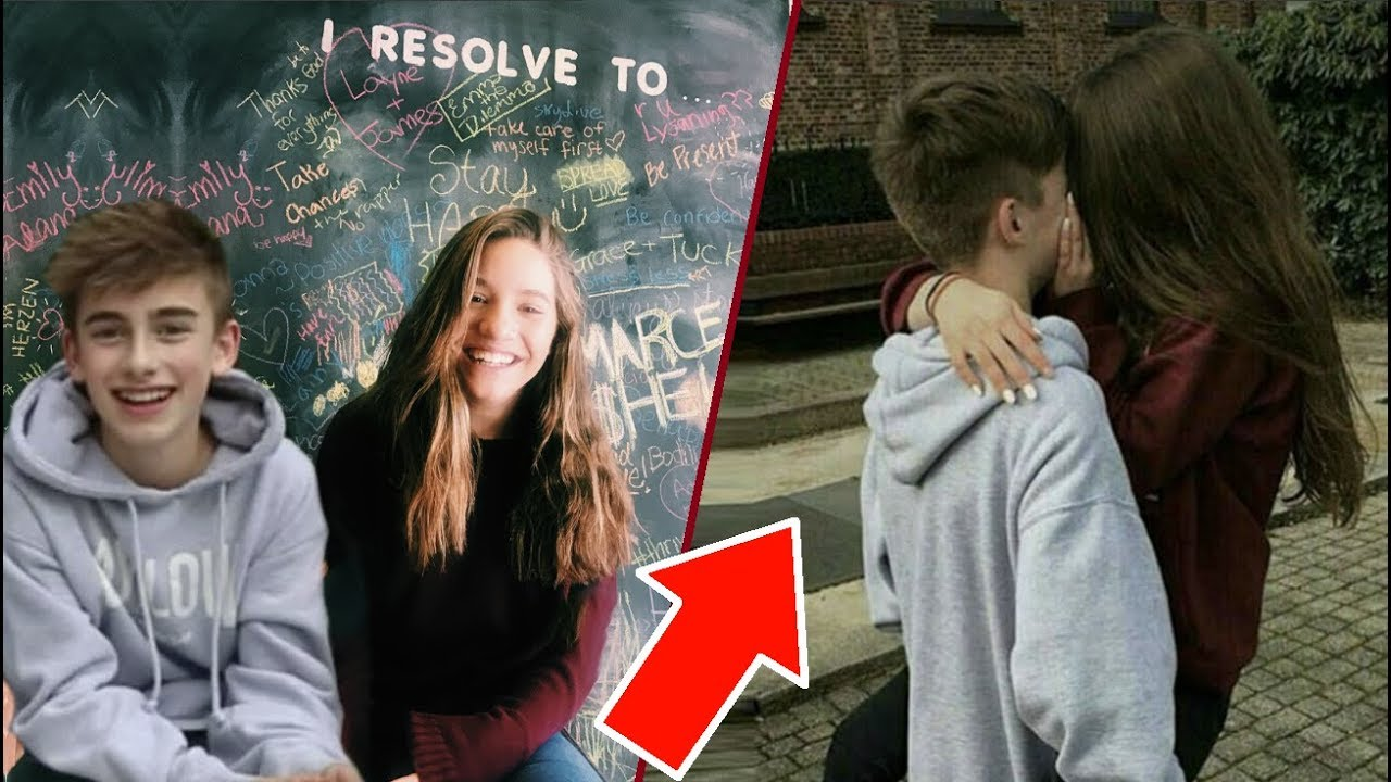 Mackenzie Ziegler CAUGHT Kissing Johnny Orlando - YouTube