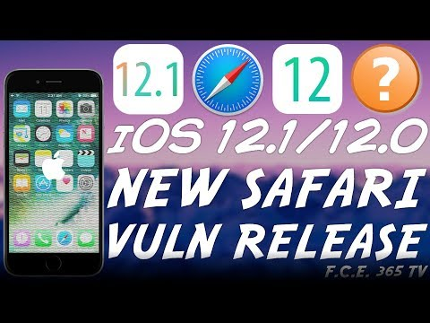 iOS 12.1 / iOS 12.0 NEW WebKit PoC RELEASED (Usable For a Jailbreak-Me Style Jailbreak) (Explained)