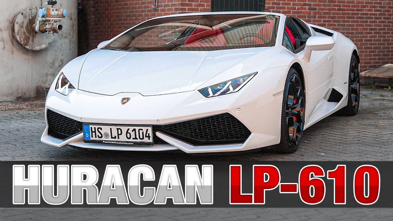 Lamborghini Huracán Spyder | HET LEKKERSTE V10 GELUID!