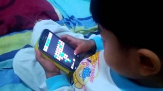 Pou apps played by Faruq Hakim 2 years half