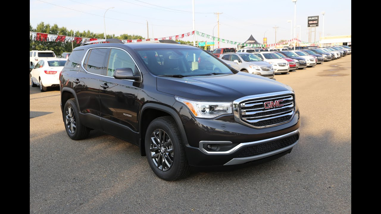 brand new 2017 gmc acadia slt 1 for sale in medicine hat. Black Bedroom Furniture Sets. Home Design Ideas