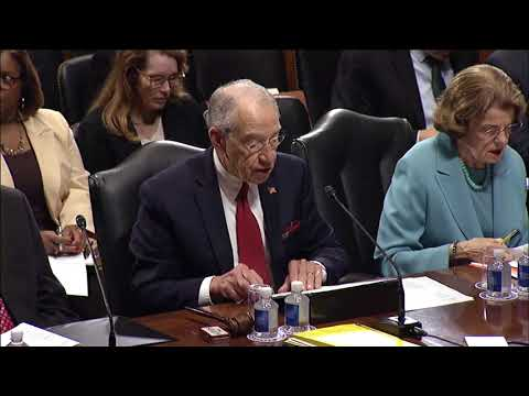 Grassley: Before Committee Votes on 10th Circuit, 3rd Circuit and Federal District Court Nominees