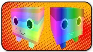 Epische Haustiere! Regenbogen Regenbogen und Regenbogen dunkle Süßigkeiten Mais - Roblox Pet Simulator