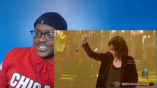 AMERICAN REACTS | KZ Tandingan Belts Rolling in the Deep | China Singer 2018 REACTION!!!