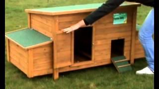 Poulailler bois 8 à 12 poules
