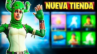 FORTNITE'S NEW STORE TODAY APRIL 4 NEW SKIN OF PATRULLERA POINTY AND PICO