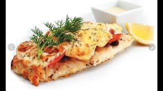 Рыба по-французски в духовке с помидорами и сыром
