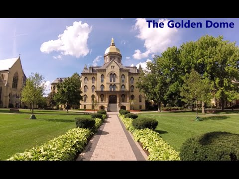 A tour of the Notre Dame Law School & the Golden Dome
