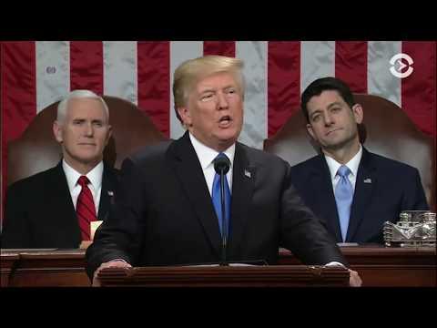 Речь Дональда Трампа в Конгрессе США | 30.01.18