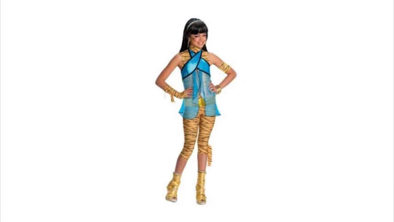 cleo de nile monster high girls halloween fancy dress costume l age