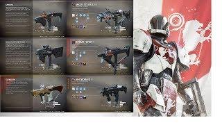 Destiny 2 Лучшие ППпистолеты пулемёты игры 1 го годаТОП 5