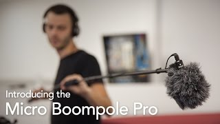 Introducing the RØDE Micro Boompole Pro