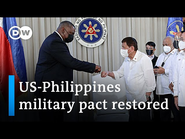 US to maintain military force in the Philippines | DW News