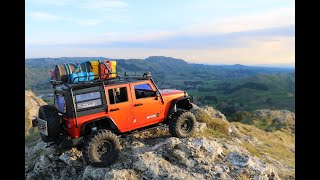 Exploring Te Mata park in a 1:10 scale Jeep