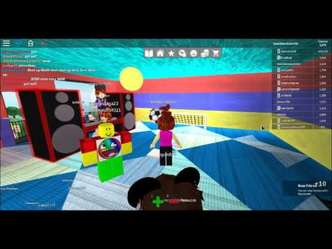 Roblox Party Work At A Pizza Place Awesome Bounce Castle In Backyard Gameplay