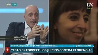 Carlos Pagni: El linfedema y Comodoro Py - PM