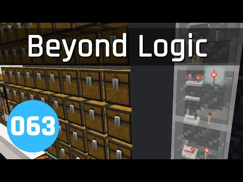 Beyond Logic #63: Multi-Item Storage | Minecraft 1.13