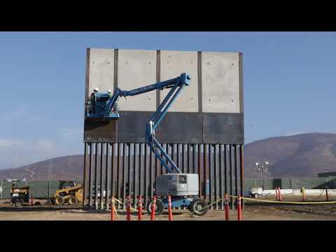 "CBP ""Mexico Wall"" Prototype Construction"