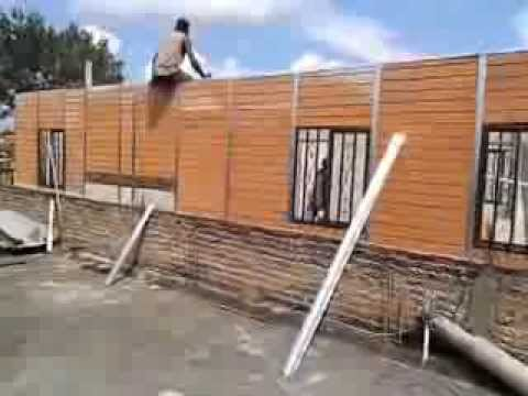Como hacer una casa prefabricada youtube - Como construir una casa prefabricada ...