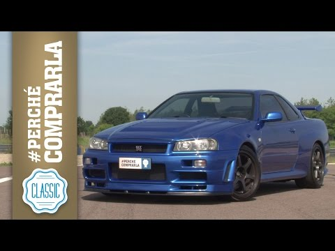 Nissan GT-R R34 Skyline   Perché comprarla... CLASSIC