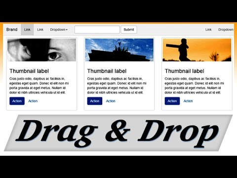 Easiest way to make responsive website with bootstrap (Just Drag & Drop)