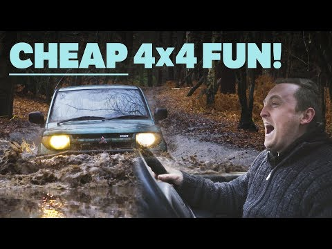 Here's Why You Should Buy A Budget 4x4