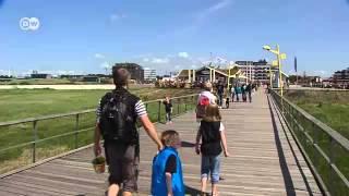 St. Peter-Ording - Surfen, Reiten, Strandsegeln   Hin & weg