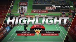Safitri Anjani (Jaya Raya Jakarta) VS Choirunnisa (Mutiara Cardinal Bandung)