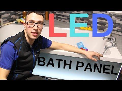 DIY LED Illuminated Bath Panel