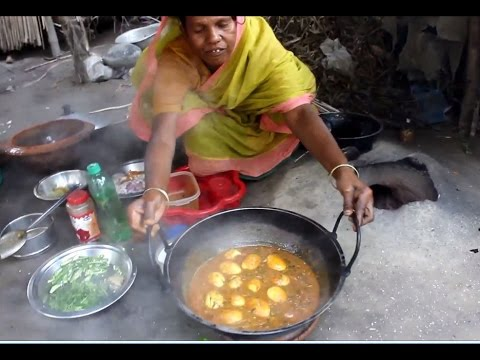 Cooking and recipes | Egg curry recipe village style | Food Village-2