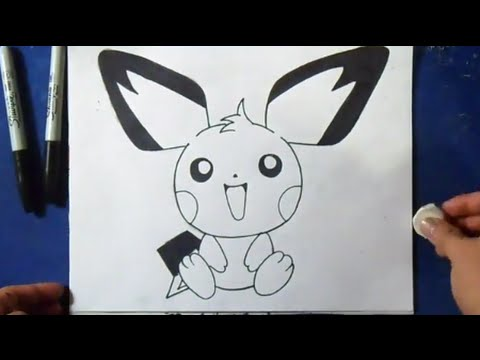 Comment Dessiner Pichu Pokemon Youtube