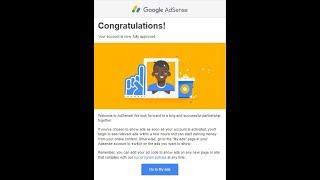 I Got AdSense Approval in 3 Days