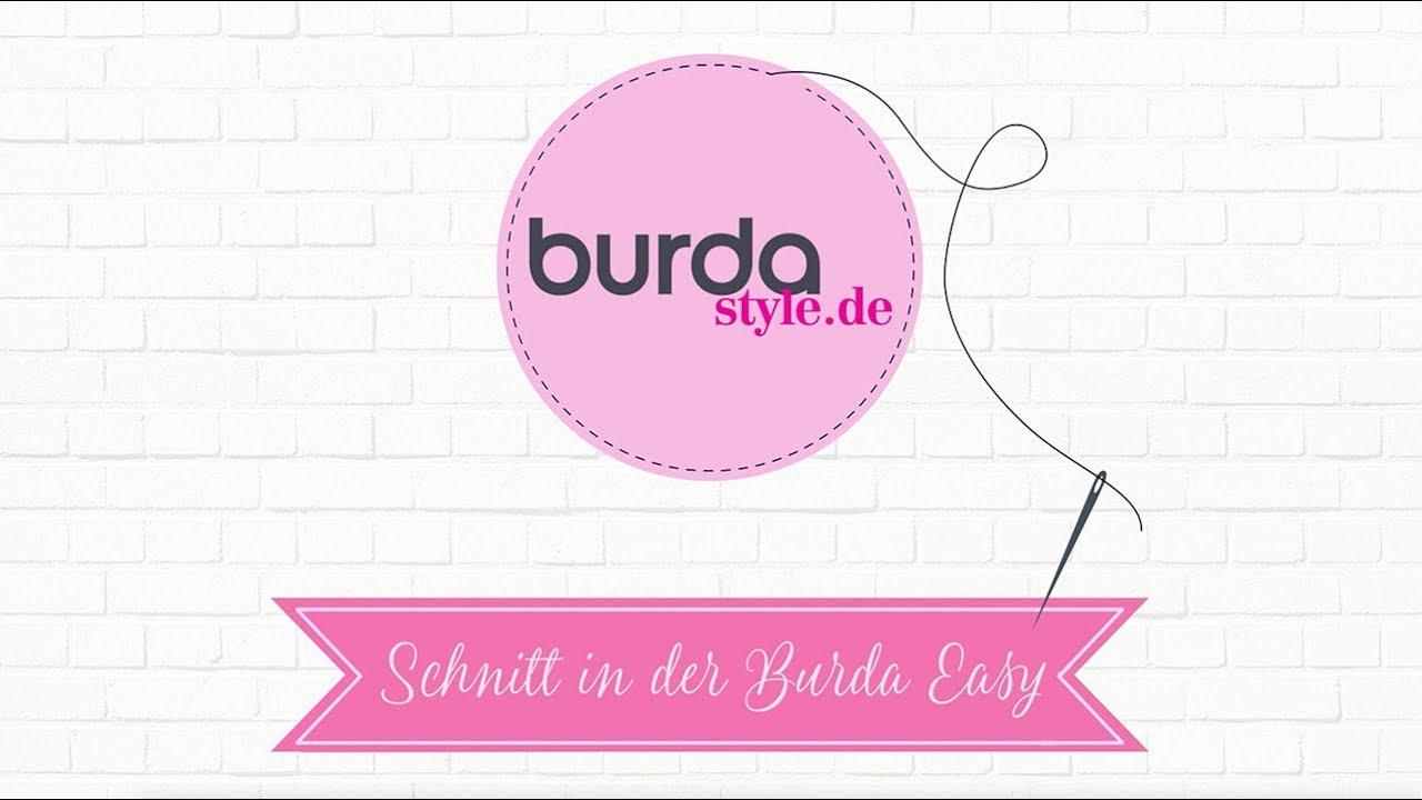 burda easy: schnitte finden und zuschneiden - youtube