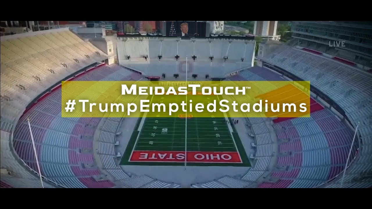 Exclusive New Video: MeidasTouch Presents 'Trump Emptied Stadiums'