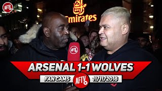 Arsenal 1-1 Wolves | Traore Was A Problem!! We Should Sign Him! (Heavy D)