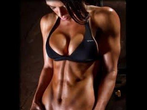 Фитнес дома Проработка мышцы пресса для девушек