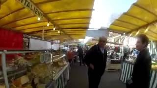 Ballade au marché de la Bastille