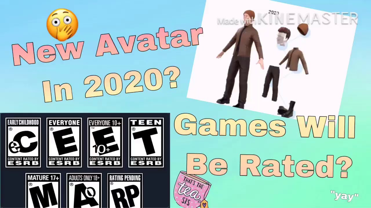 Mature 17 Content Rated By Esrb Roblox New Avatars Are Coming Games Will Be Rated Youtube