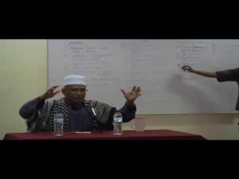 Ceramah ilmu makrifat Tuan Guru H. Shaari di Shah Alam part.2