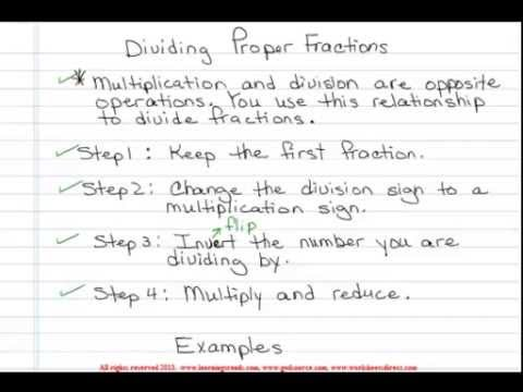 math worksheet : ged math help  dividing proper fractions  youtube : Pre Ged Math Worksheets