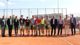 Wrêczenie nagród w Tenisowym Turnieju Otwarcia
