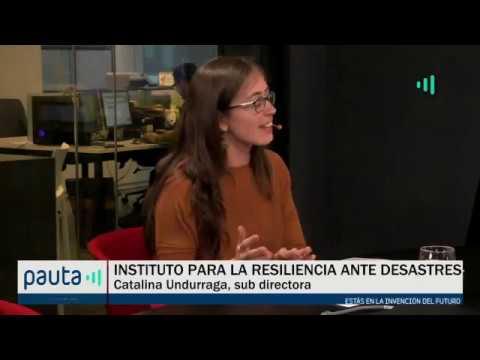 Un nuevo Instituto para la Resiliencia ante Desastres en Chile