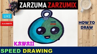 ✍SPEED DRAWING HOW TO DRAW A SPHERE  kawaii STEP BY STEP✍