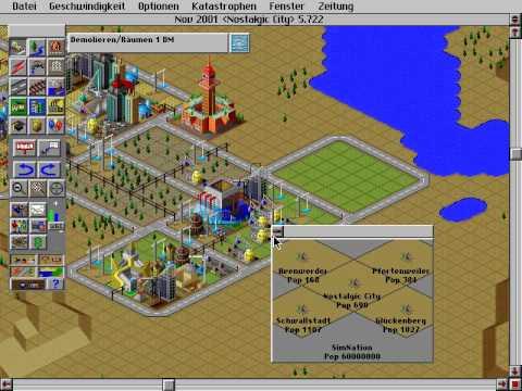 Simcity 2000 - Gameplay (With Urban Renewal Kit)