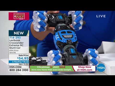 Lexibook Crosslander Extreme RC Stunt Car