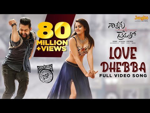Nannaku Prematho Telugu Video Songs HD 1080P Blu ray | Jr | Rakul Preet Singh | Sukumar | DSP | Telugu Video Songs 2016