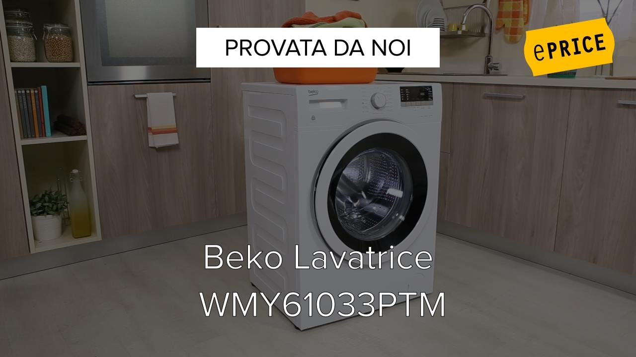 Video Recensione Lavatrice Beko Wmy61033ptm Youtube