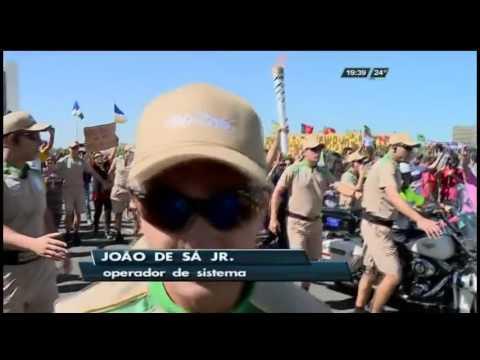 Chama Olímpica em Brasília