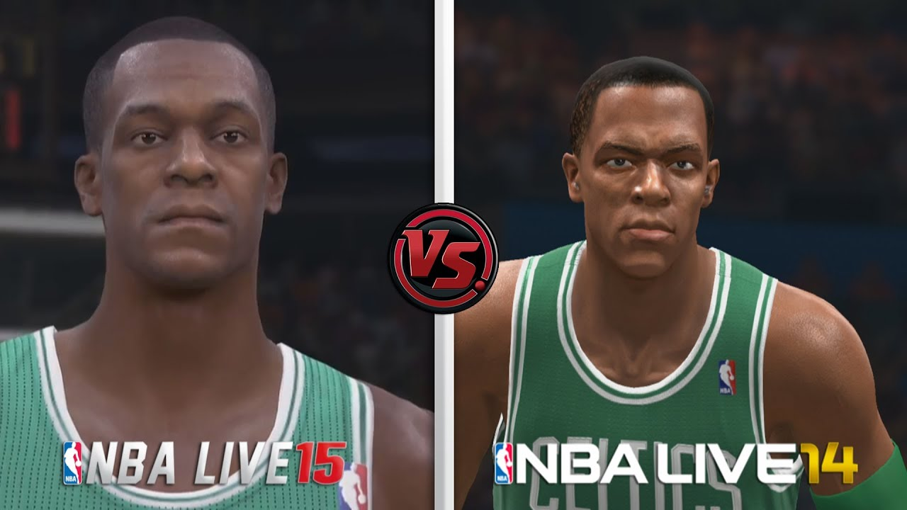 nba live 15 vs nba live 14 graphic comparison youtube. Black Bedroom Furniture Sets. Home Design Ideas