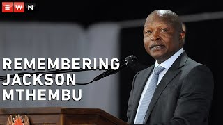 Deputy President David Mabuza delivered the keynote address at a virtual memorial service held by government officials in honour of Minister in the Presidency Jackson Mthembu, who died on 21 January 2021 due to COVID-19 related complications.